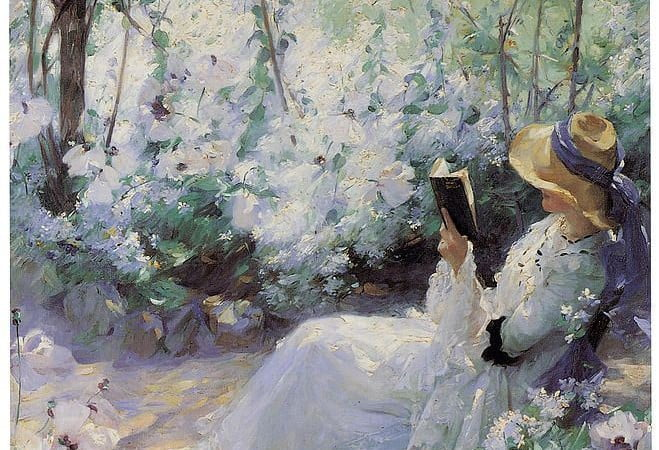 10 Beautiful Pieces Of Art That Feature Women Reading Books