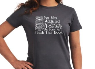 10 Humorous T-Shirts For Reading Addicts