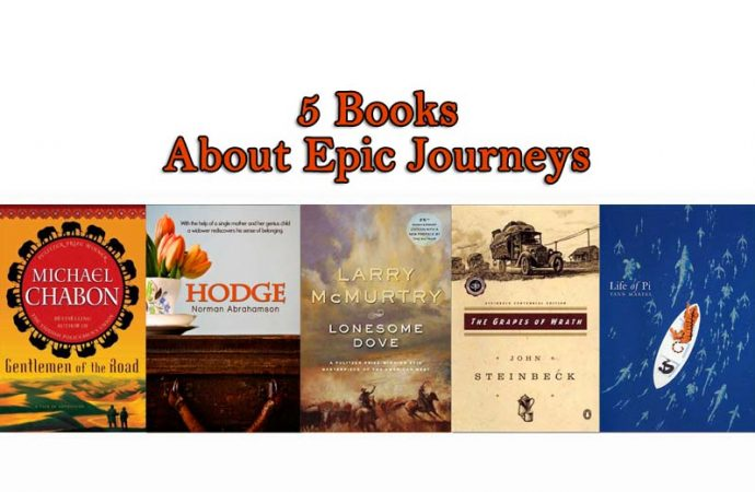 5 Books About Epic Journeys Bookglow