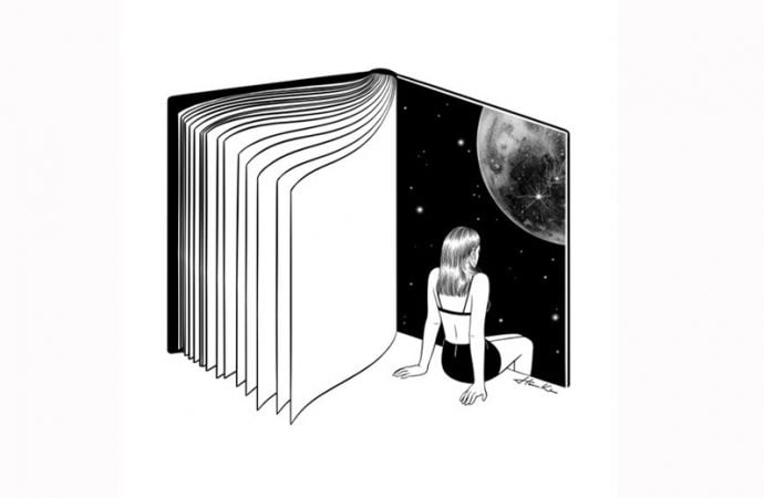 15 Surreal Works Of Art Featuring Books