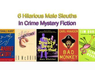 6 Hilarious Male Sleuths In Crime Mystery Fiction