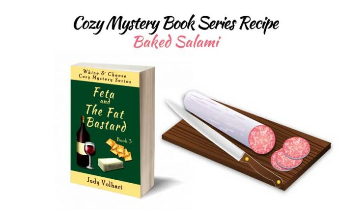 Cozy Mystery Book Series Recipe: Baked Salami