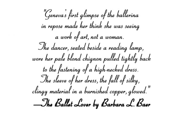 7 Fashion Passages From The Ballet Lover