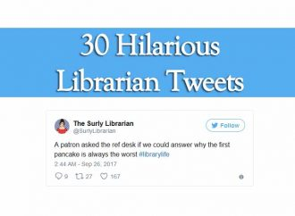 30 Hilarious Librarian Tweets