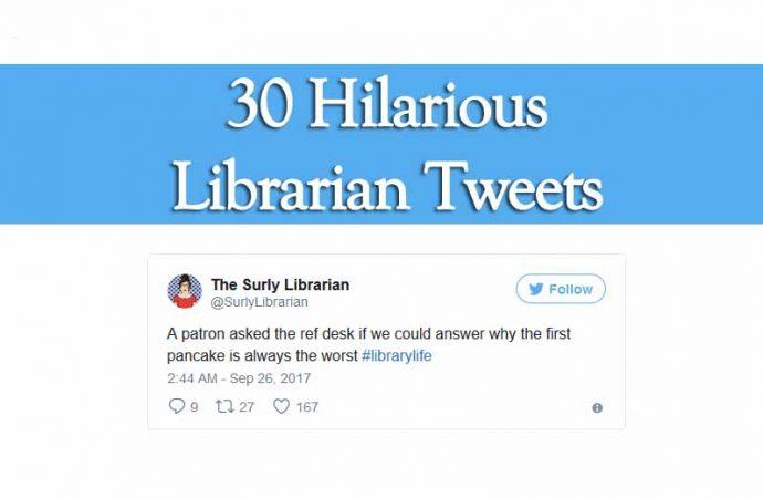 30 Hilarious Librarian Tweets