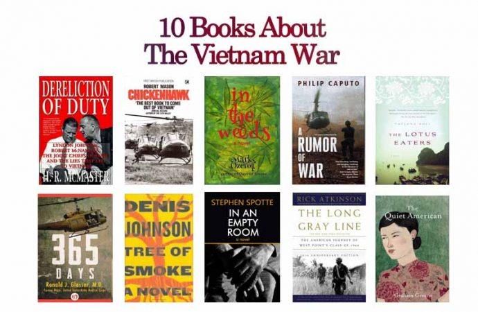 10 Books About The Vietnam War