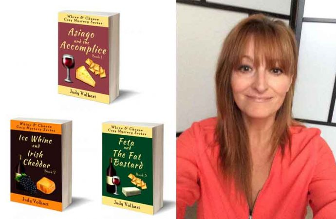 Interview With Whine & Cheese Cozy Mystery Series Author Judy Volhart