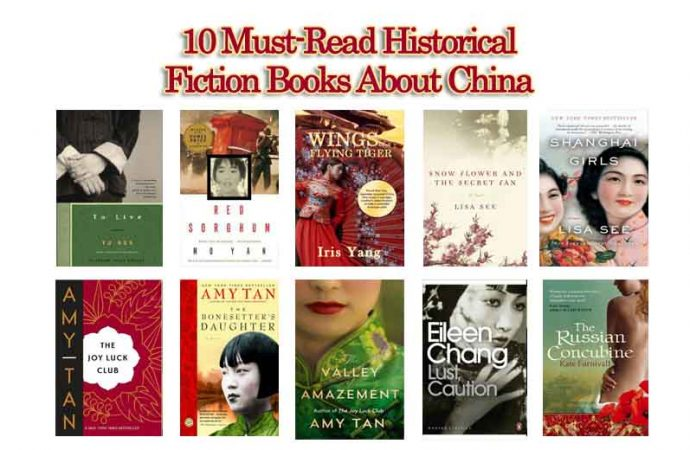 10 Must-Read Historical Fiction Books About China