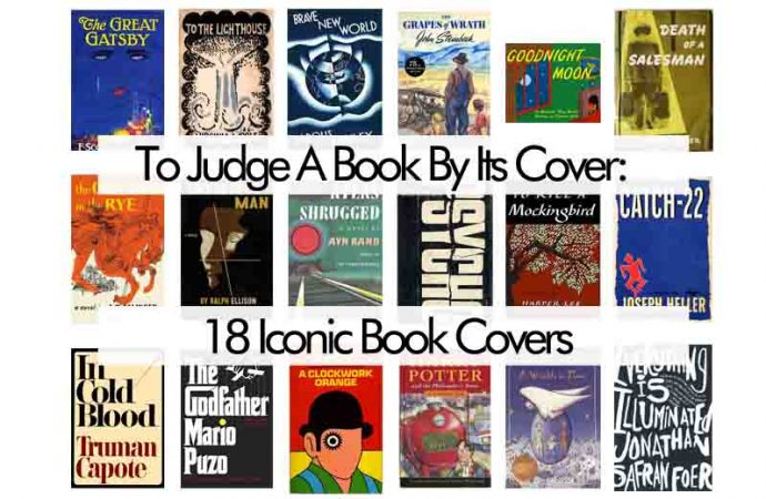To Judge A Book By Its Cover: 18 Iconic Book Covers