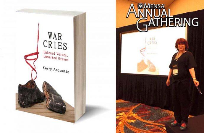 Remembering The Holocaust: War Cries Presentation At American Mensa Annual Gathering