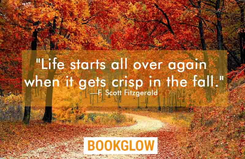 of the best literary quotes about autumn bookglow