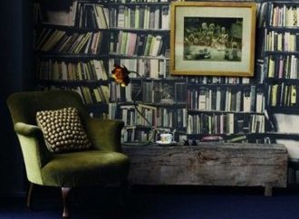 15 Awesome Bookish Wallpapers, Wall Decals, And Wall Stickers