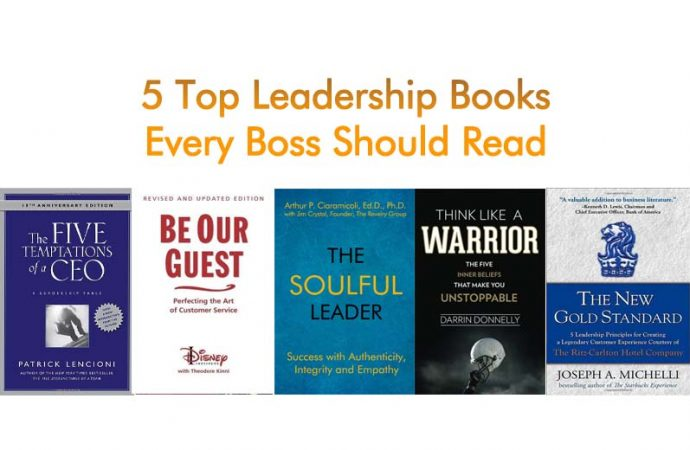 5 Top Leadership Books Every Boss Should Read