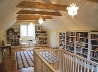 14 Charming Attic Libraries And Reading Rooms