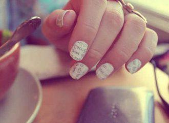 10 Bookish Nail Art Designs