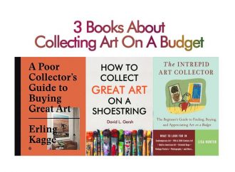 3 Books About Collecting Art On A Budget