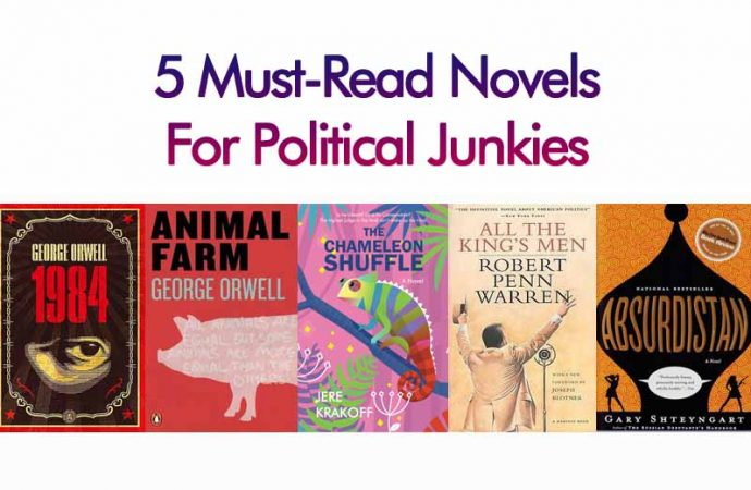 5 Must-Read Novels For Political Junkies