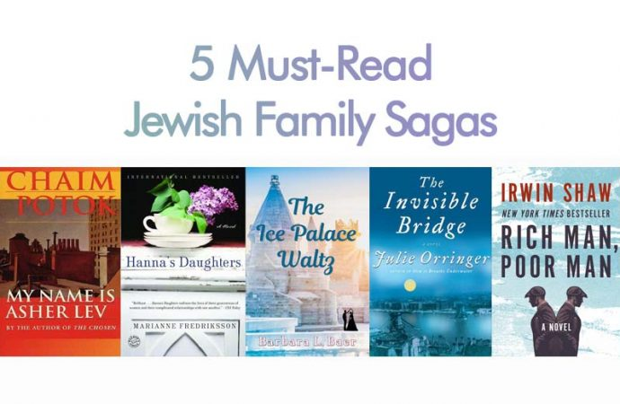5 Must-Read Jewish Family Sagas