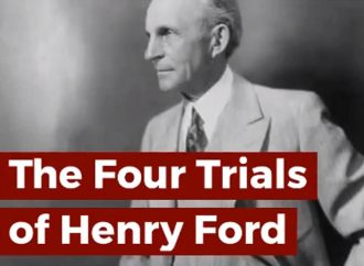 The Four Trials of Henry Ford By Gregory R. Piché | Official Book Trailer