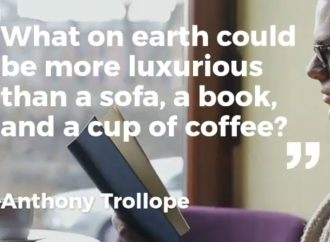 A Sofa, A Book, And A Cup Of Coffee | Coffee Date With A Book