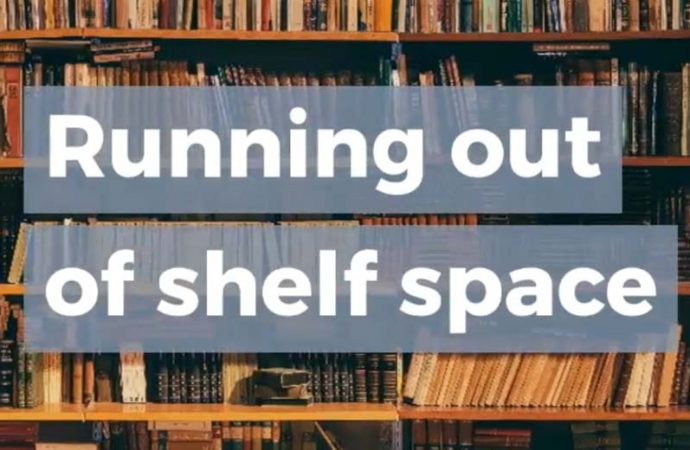 Running Out Of Shelf Space | Shelf-Control Problems