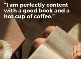 A Good Book And A Hot Cup Of Coffee | Coffee Date With A Book