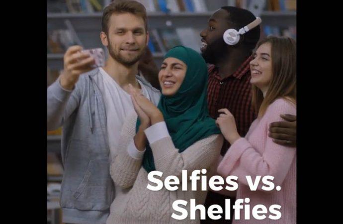 Selfies Vs. Shelfies | Shelf-Control Problems