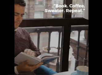Book. Coffee. Sweater. Repeat. | Coffee Date With A Book
