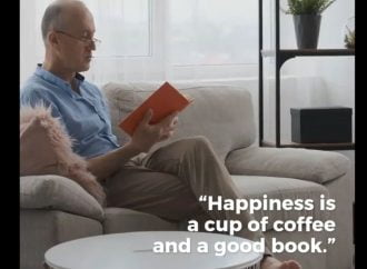 A Cup Of Coffee Plus A Good Book Equals Happiness | Coffee Date With A Book