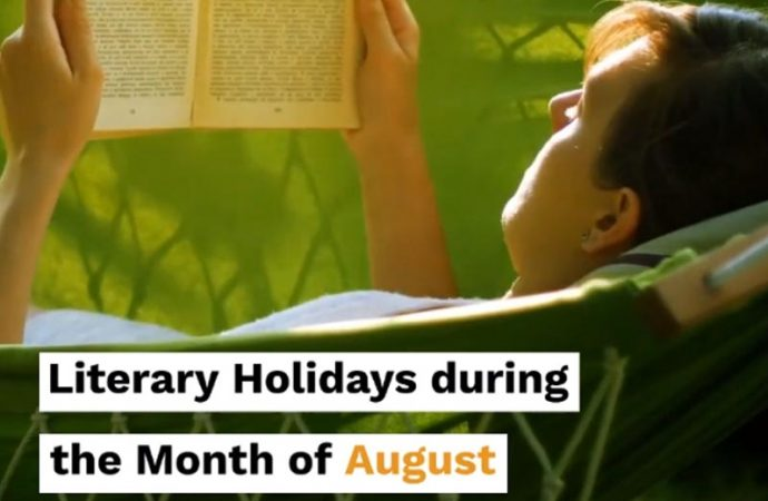 Literary Holidays During The Month Of August