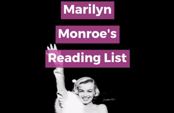 Marilyn Monroe's Reading List