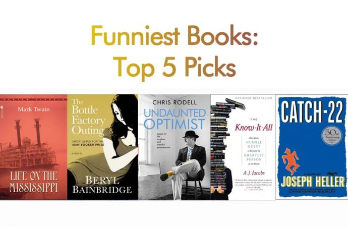 Funniest Books: Top 5 Picks