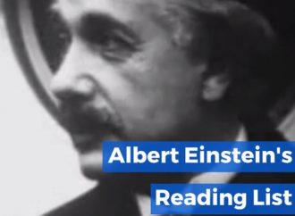 Albert Einstein's Reading List