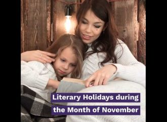 Literary Holidays During The Month Of November