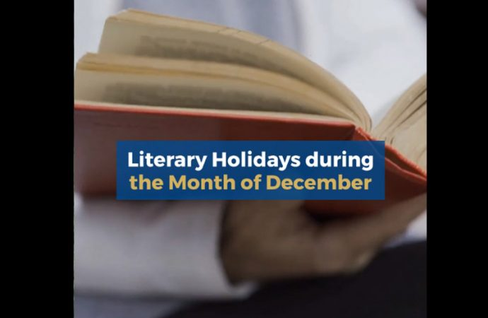 Literary Holidays During The Month of December