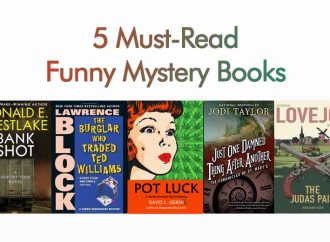 5 Must-Read Funny Mystery Books