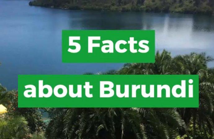 5 Facts About Burundi From Africa Memoir