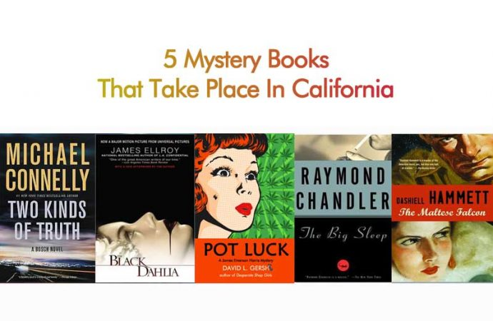 5 Mystery Books That Take Place In California
