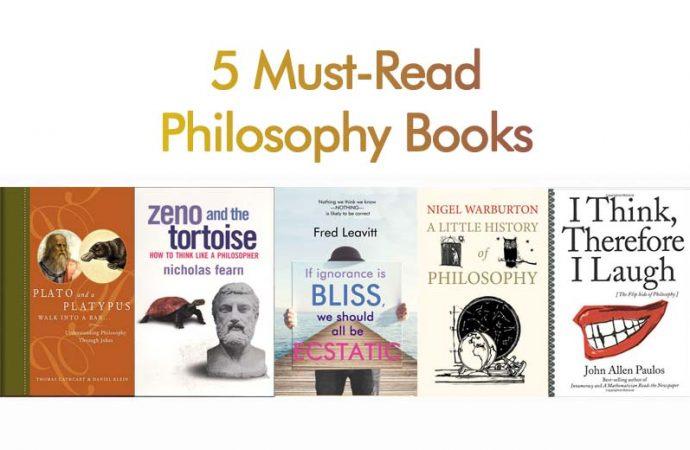 5 Must-Read Philosophy Books