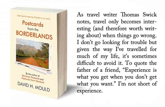 Read An Excerpt From Postcards From The Borderlands By David H. Mould